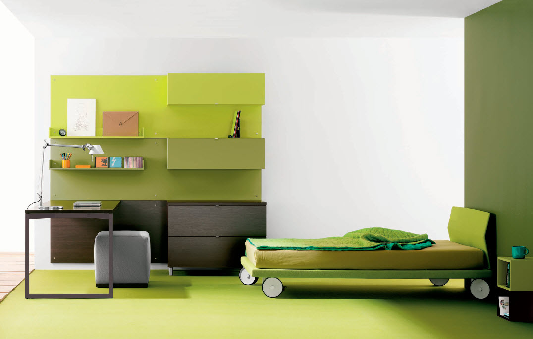 aqua-green-teen-room