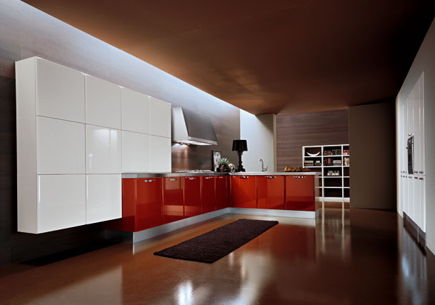 armony-cucine-red