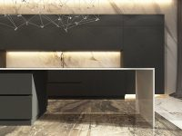 black-and-gold-marble-kitchen