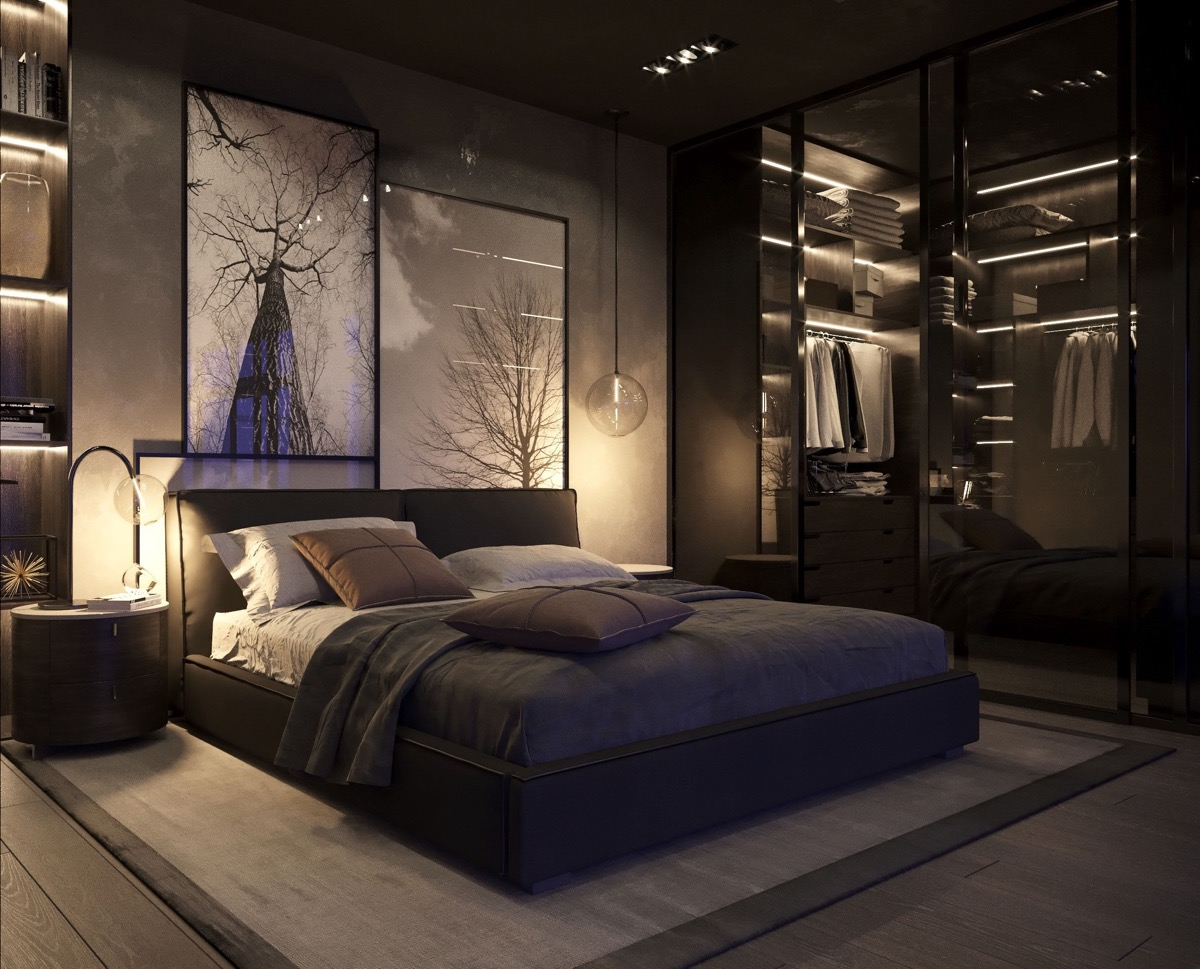 black-and-grey-bedroom-ideas - Awesome Decors