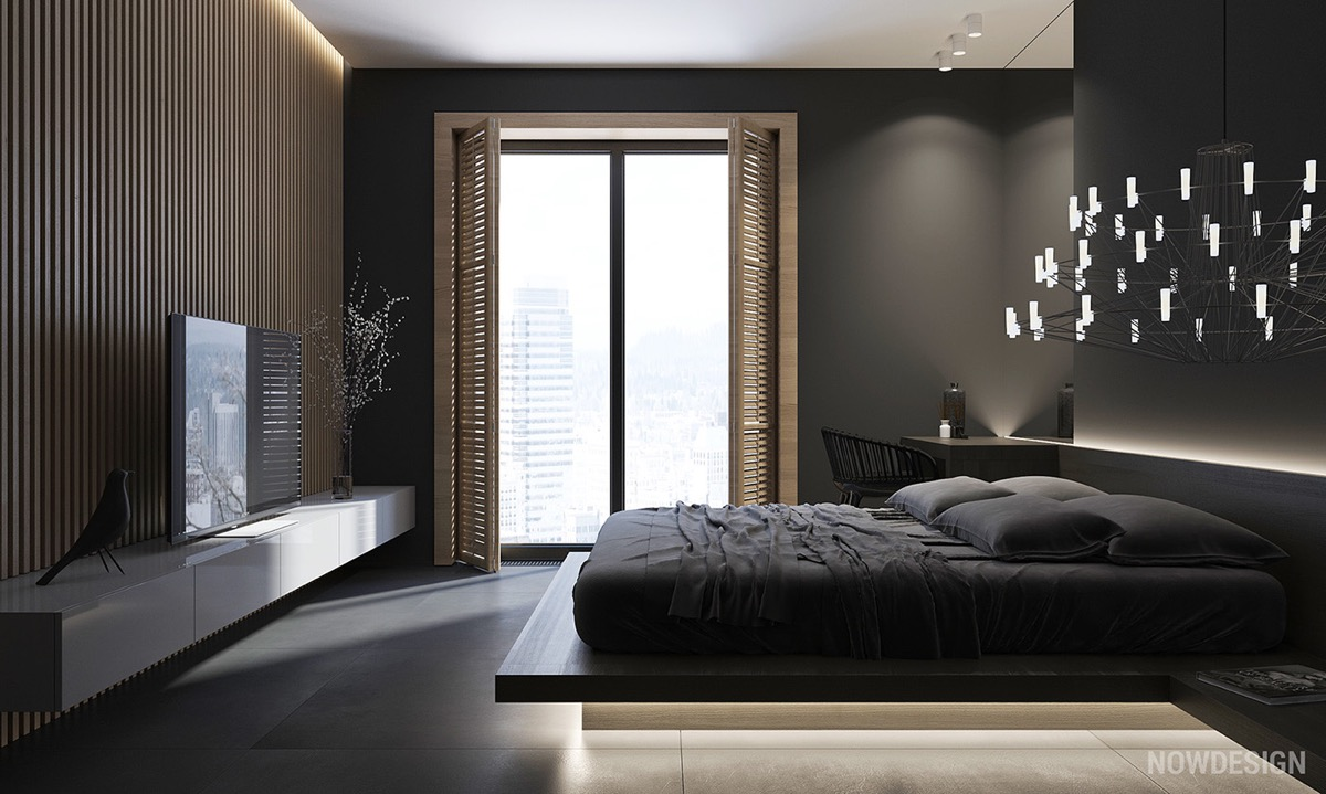 black-and-white-bedroom-furniture - Awesome Decors