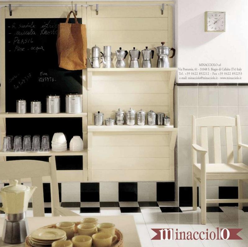 black-and-white-tile-kitchen-floor