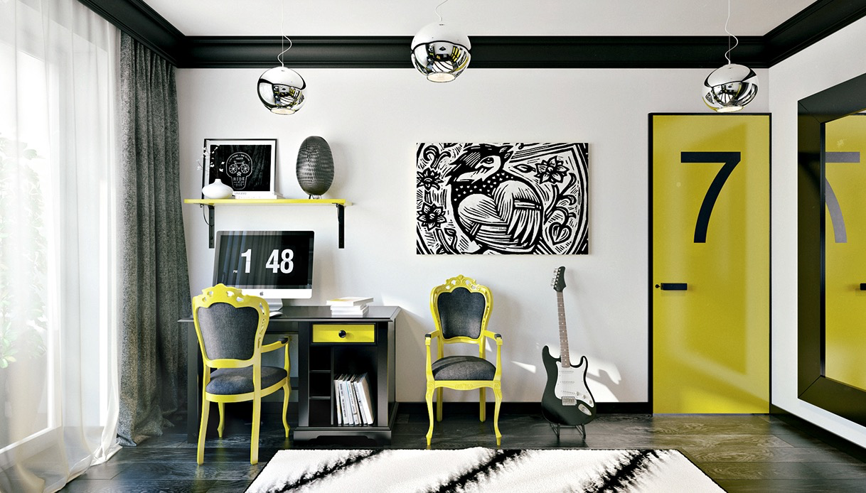 black-and-yellow-home