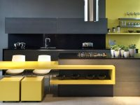 black-and-yellow-kitchen-theme