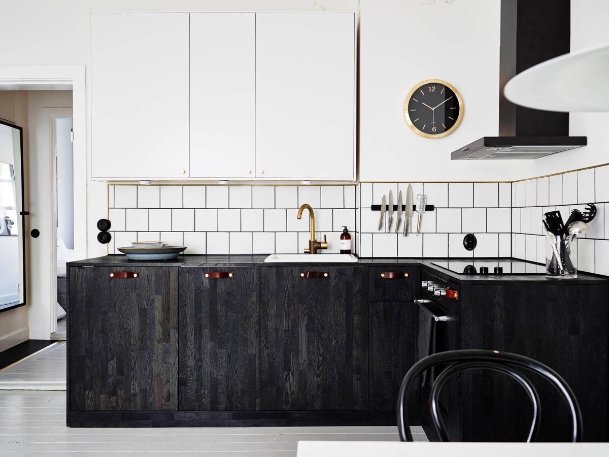black-cabinetry-kitchen-monochrome-distressed