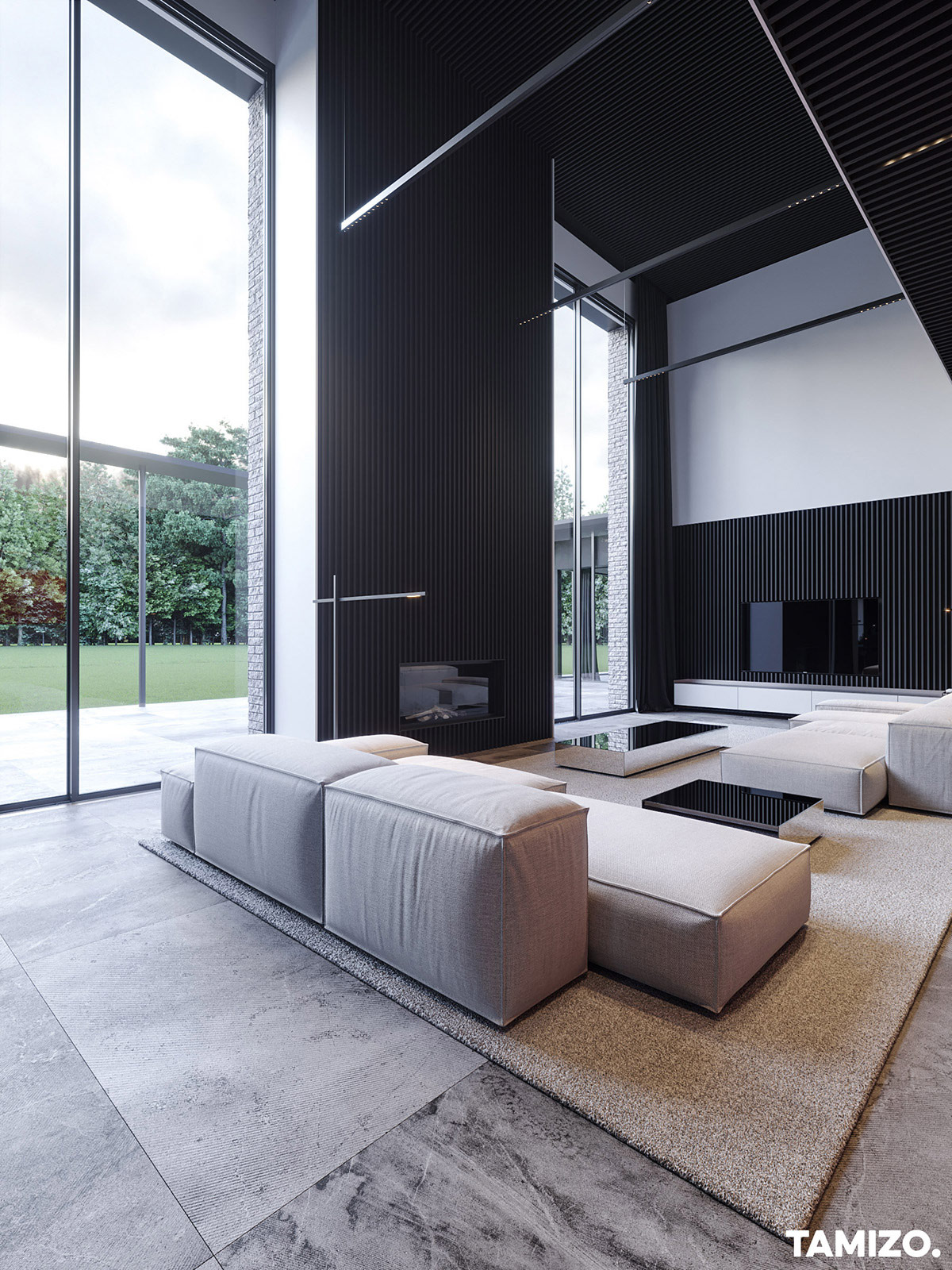 black-slatted-walls