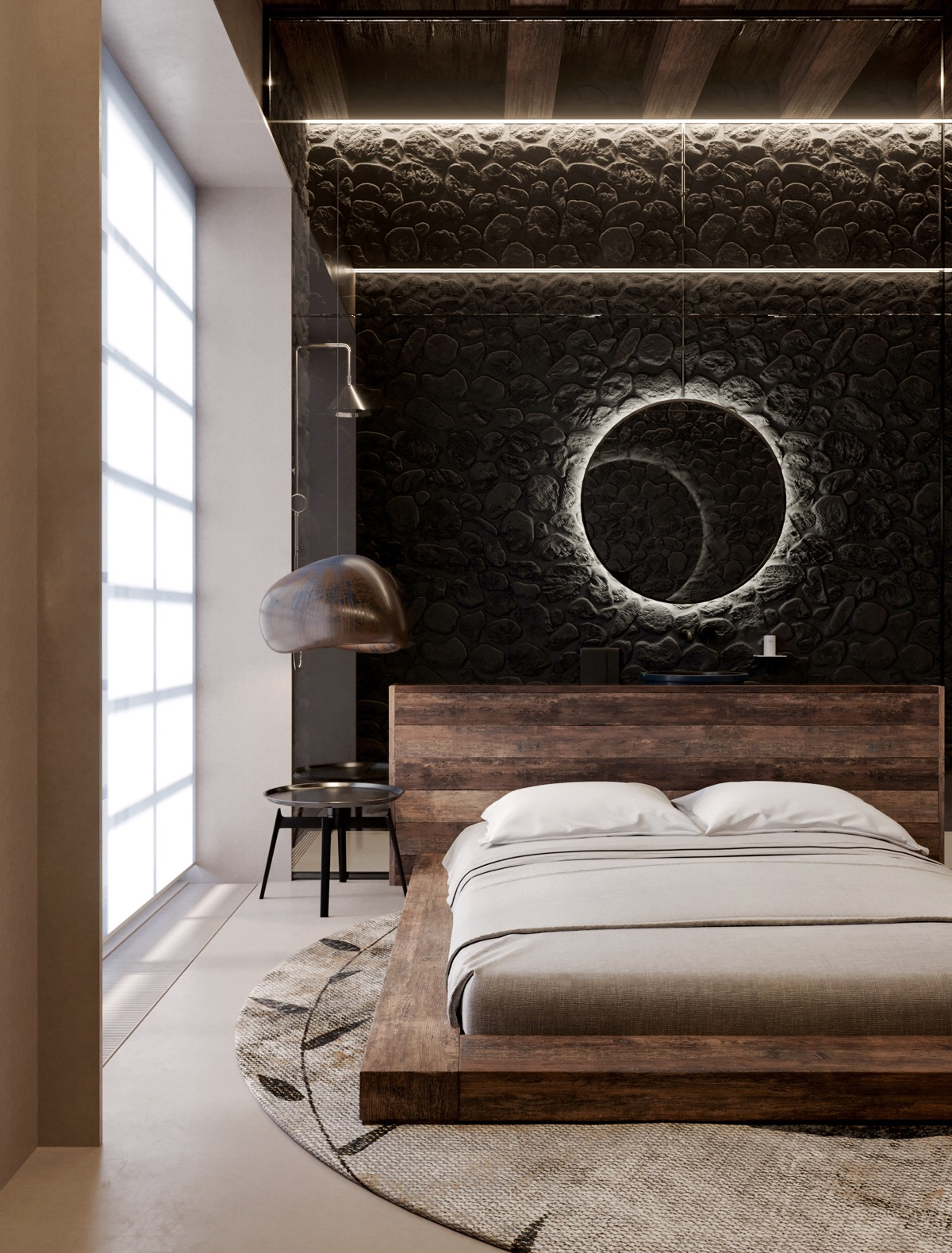 . 51 Beautiful Black Bedrooms With Images  Tips Dan Accessories To