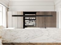block-bench-wooden-floor-marble-kitchen