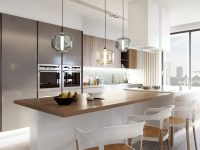 blown-glass-kitchen-pendants