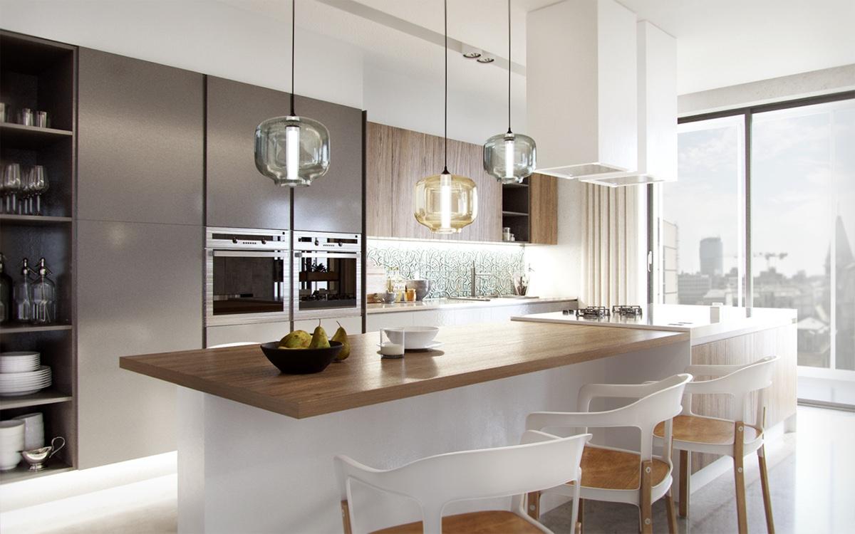 blown-glass-kitchen-pendants