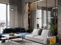 blue-and-grey-sectional-sofa