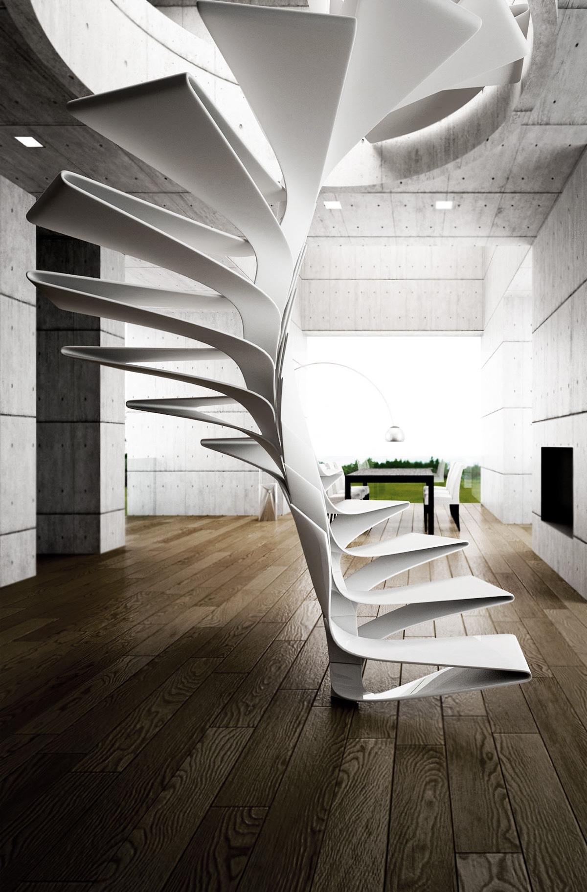 contemporary-spiral-staircase