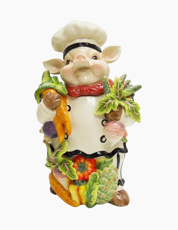 cooking-chef-pig-cookie-jar