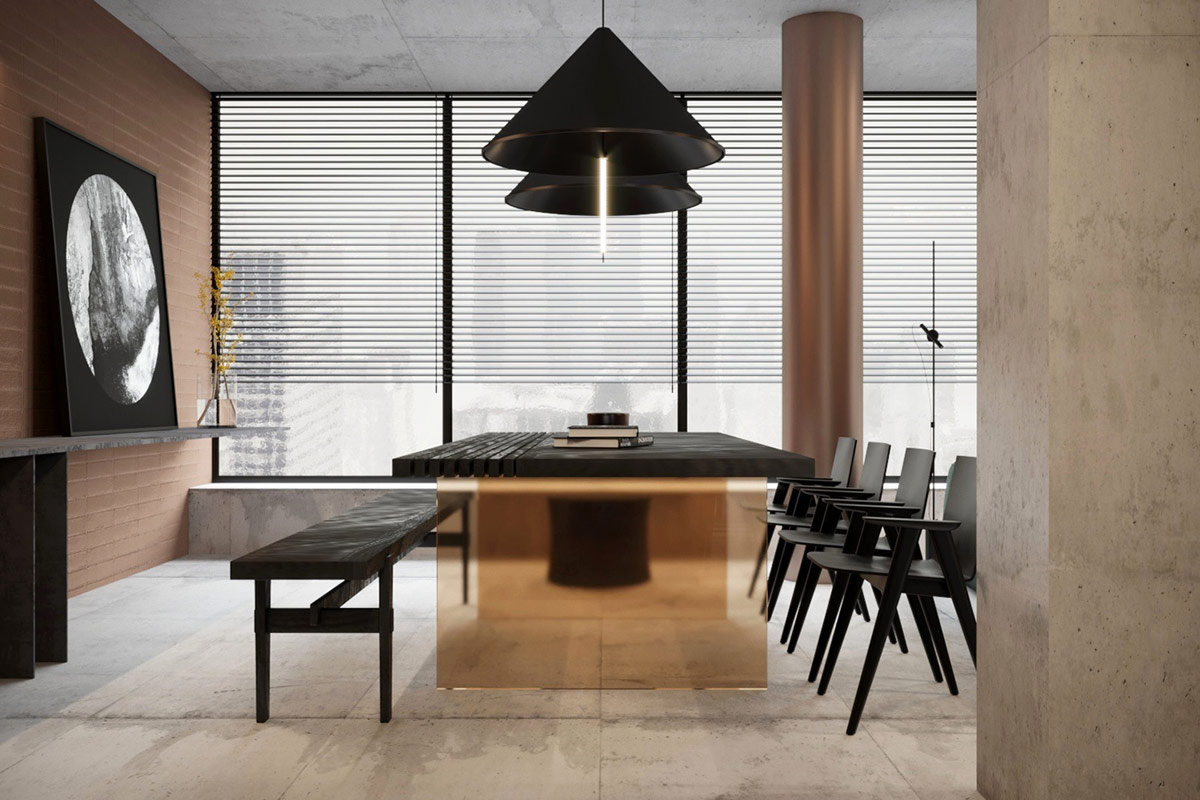 copper-dining-table