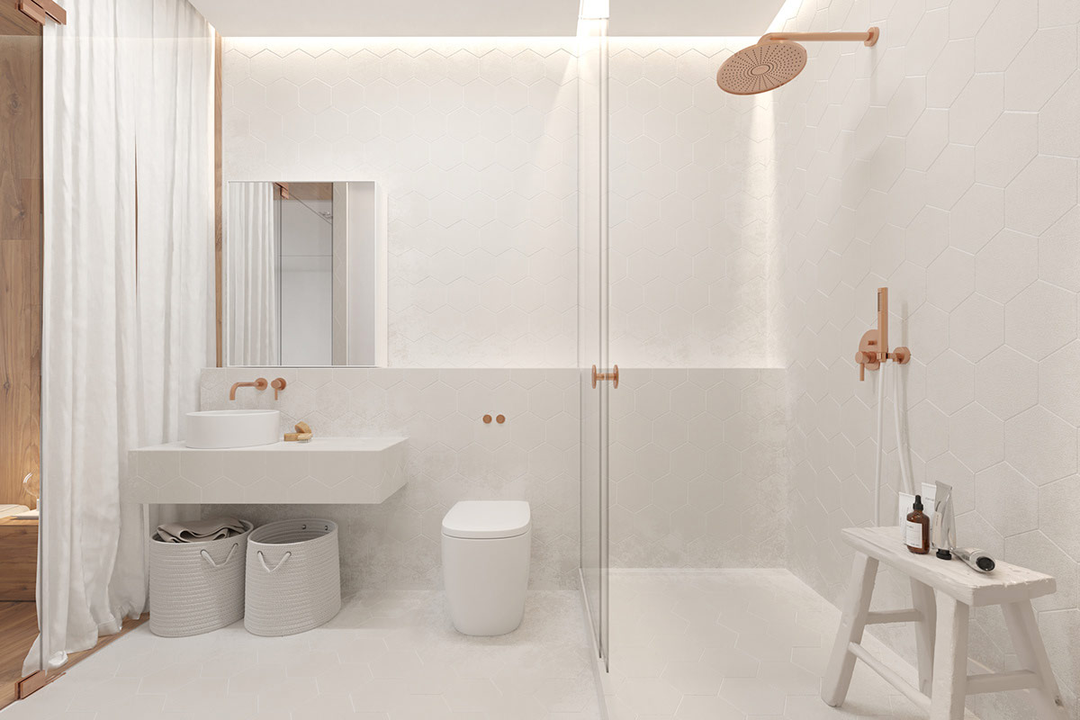 copper-shower