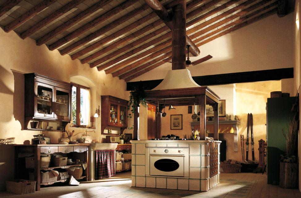 country-island-kitchen