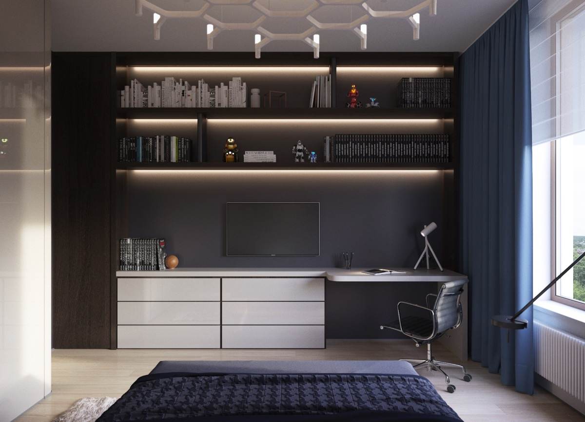 dark-blue-home-office