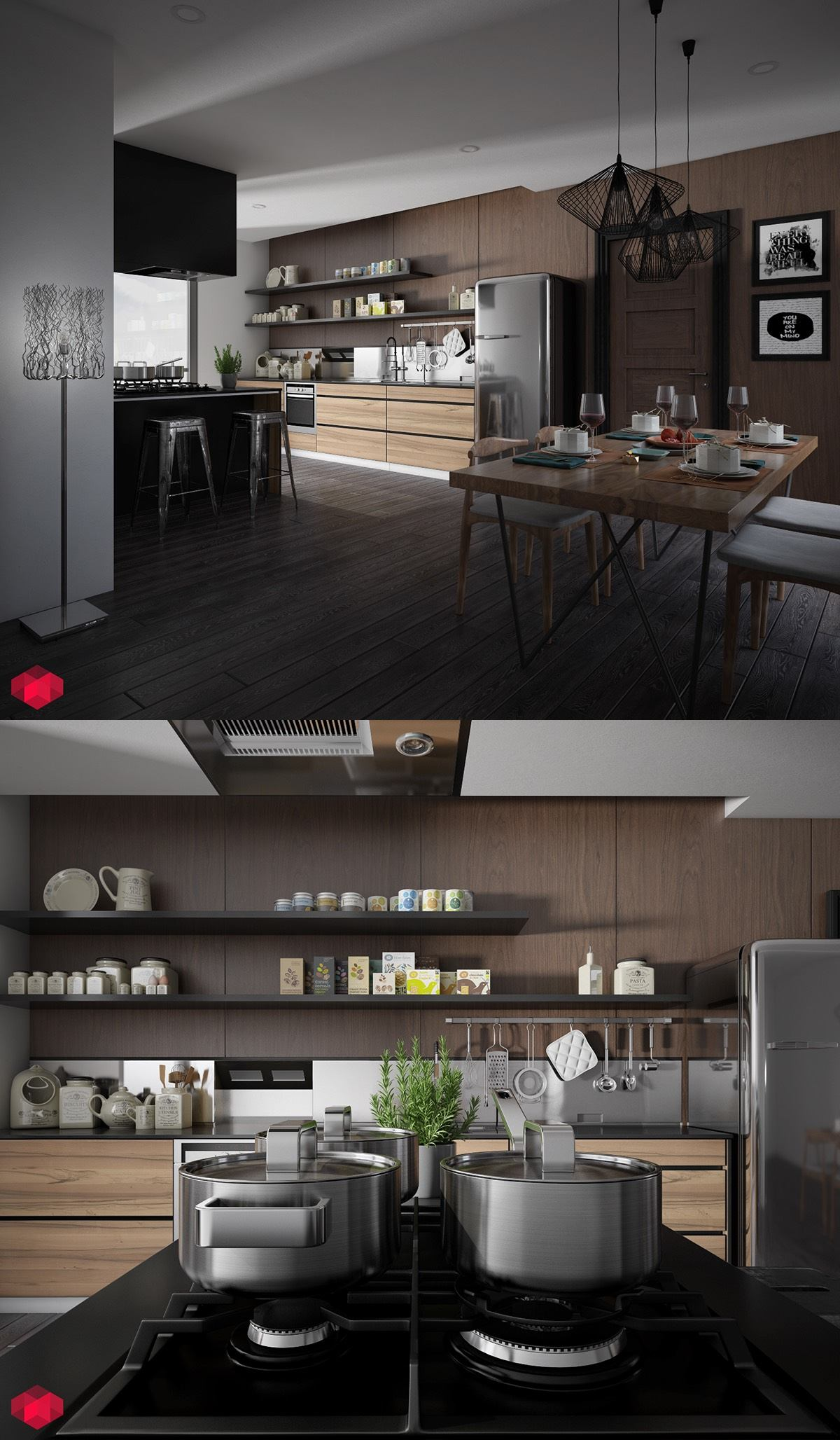 dark-industrial-kitchen-ideas