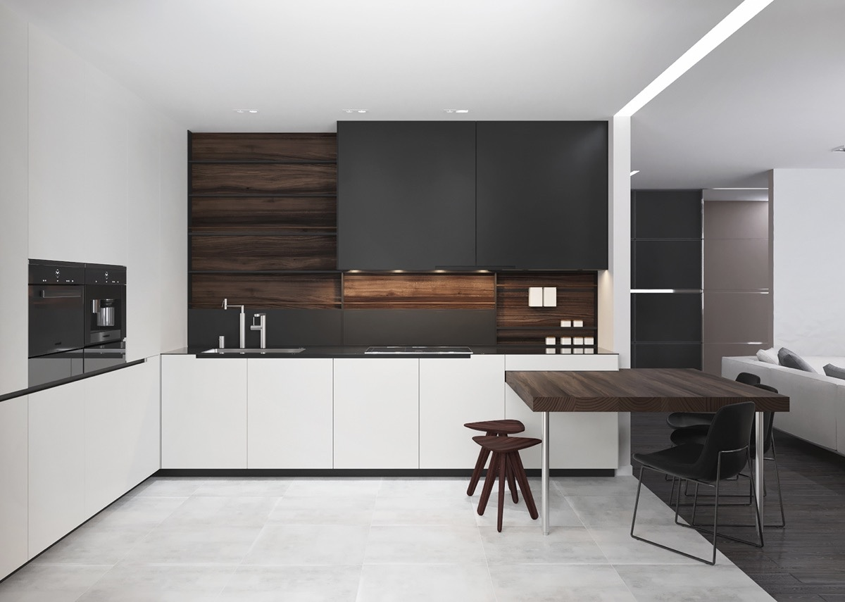 dark-wood-in-black-and-white-kitchen