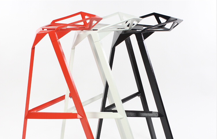 designer-geometric-bar-stools-in-metal