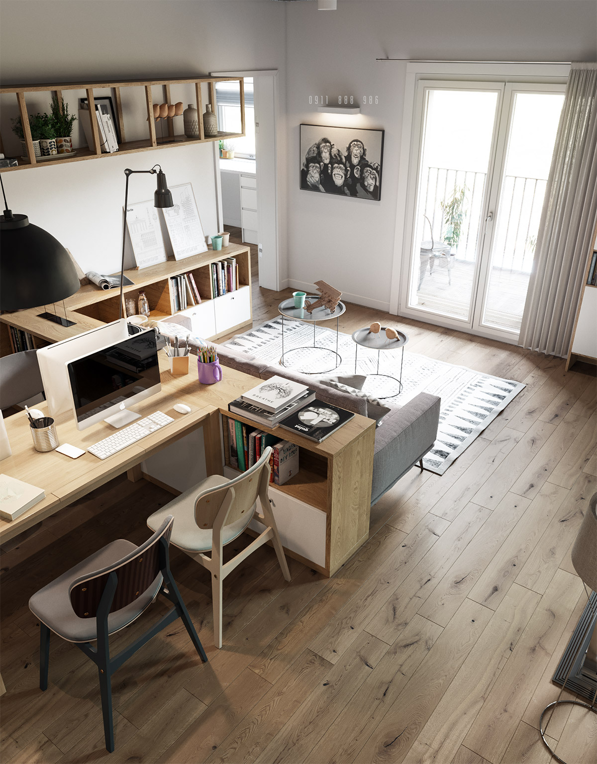double-workspace-design