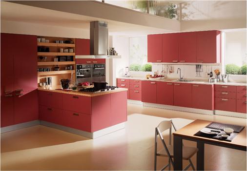 febal-red-kitchen