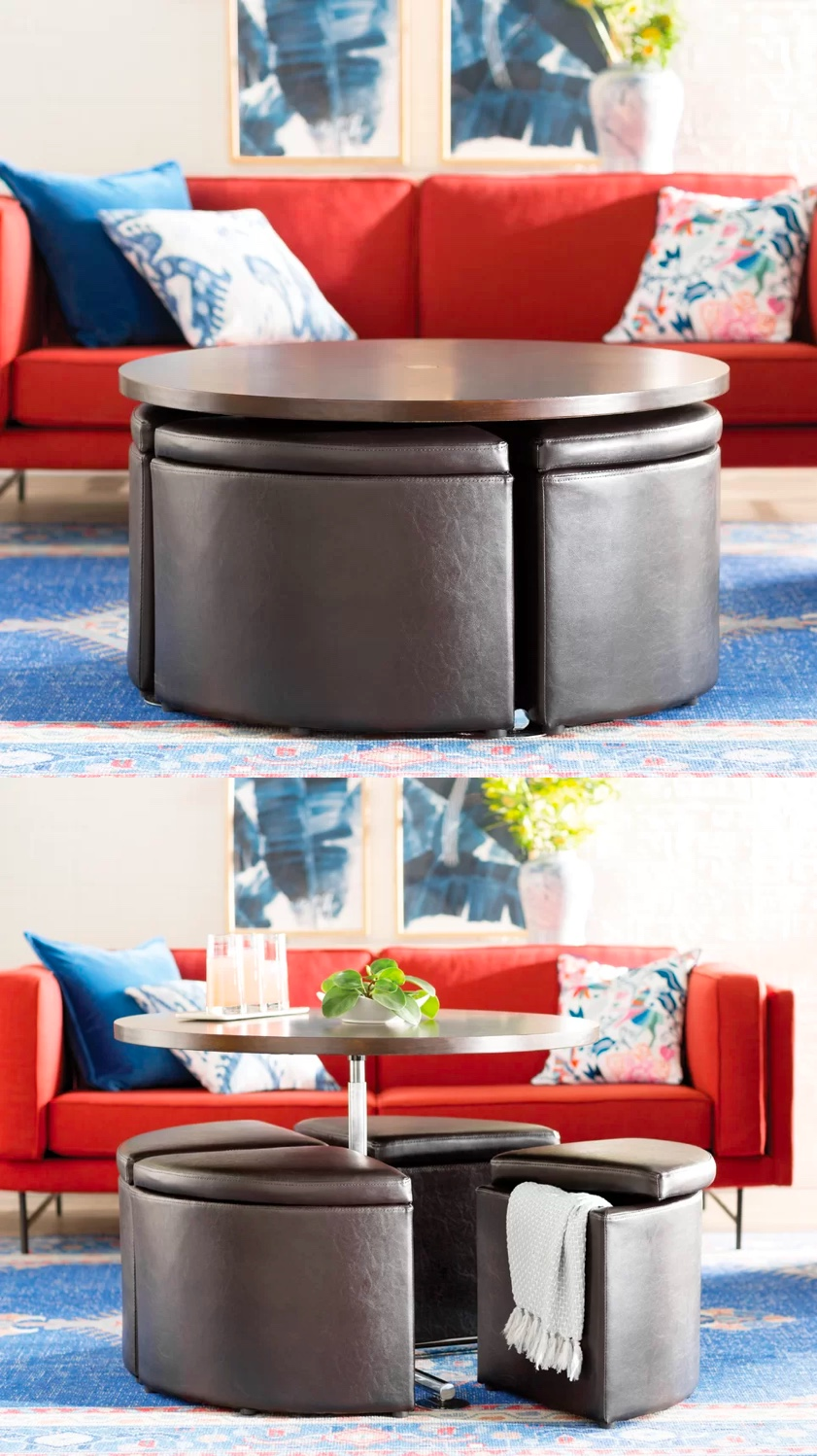 four-chairs-faux-leather-wedge-lift-top-coffee-table
