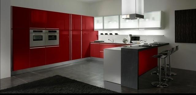 gatto-cucine-spa-red-italian-kitchen
