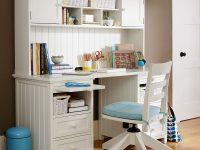 girl-bedroom-desk-white-and-blue-and-coffee