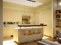 glass-and-chrome-kitchen-pendants