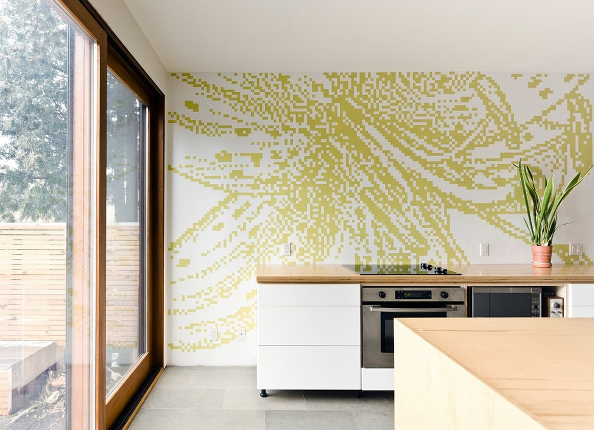 graphic-pixilated-kitchen-wall