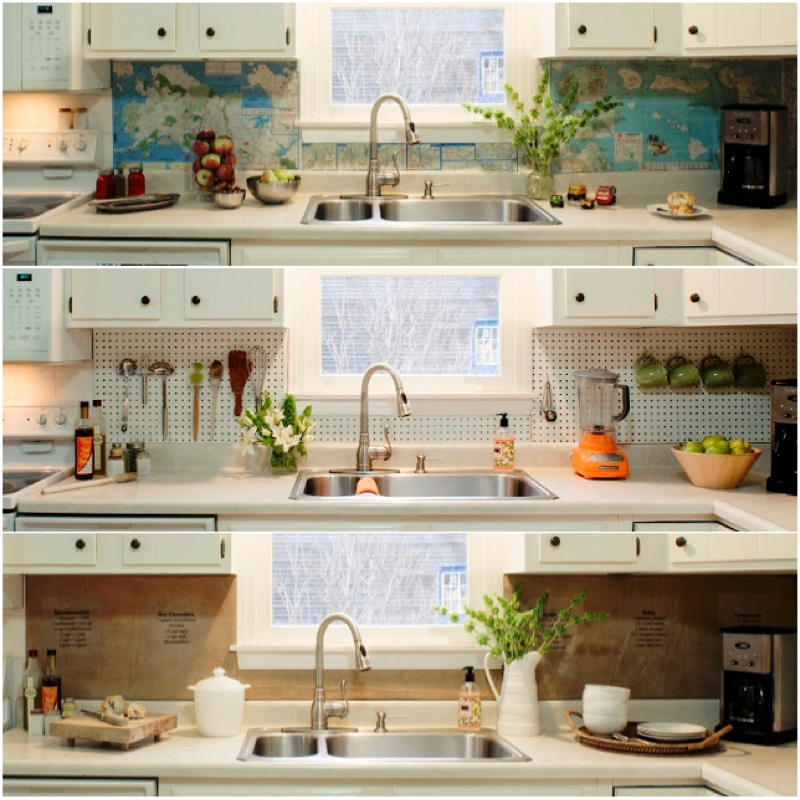 graphic-world-map-backsplash