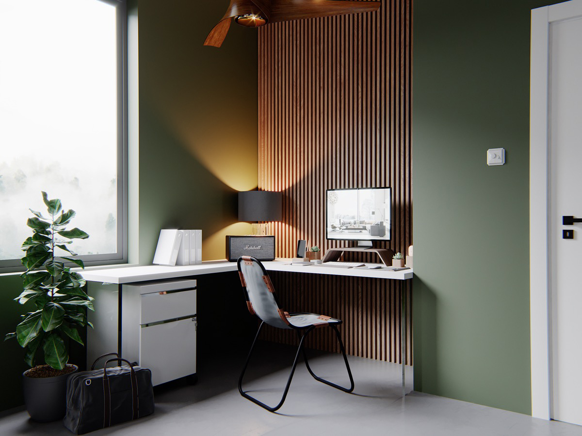 green-home-office