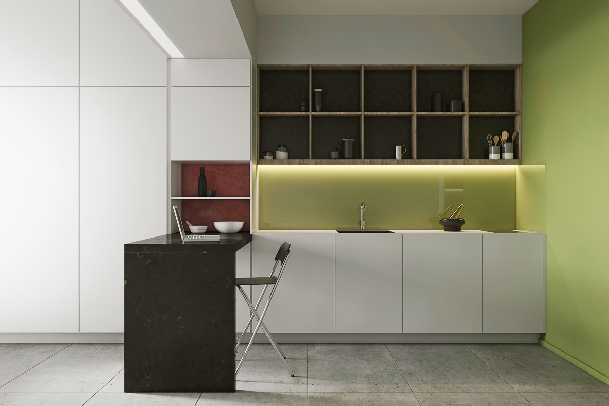 green-paint-colors-for-kitchen
