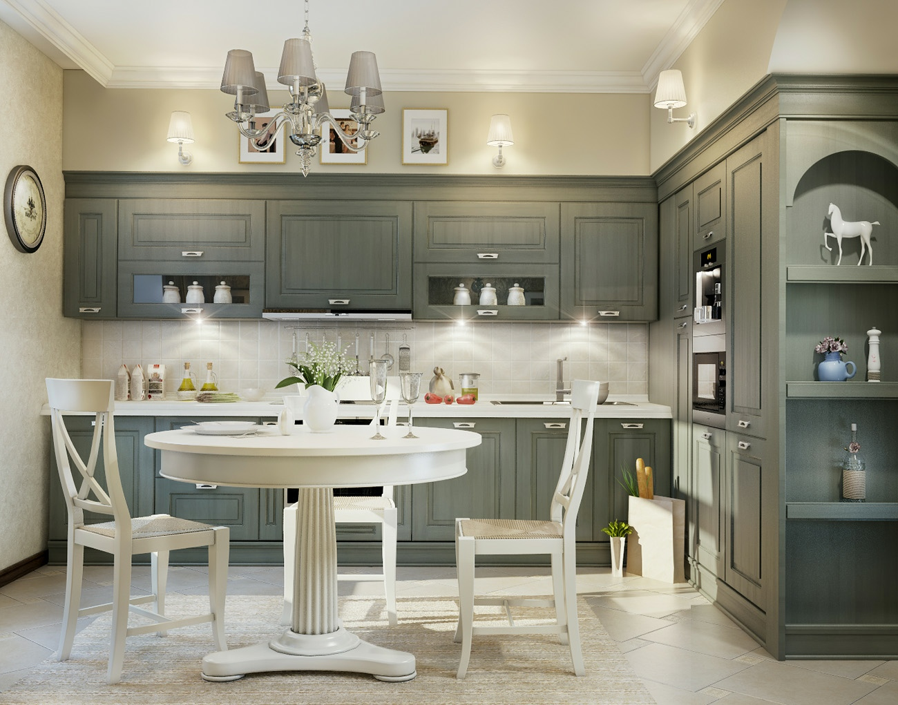 grey-traditional-kitchen