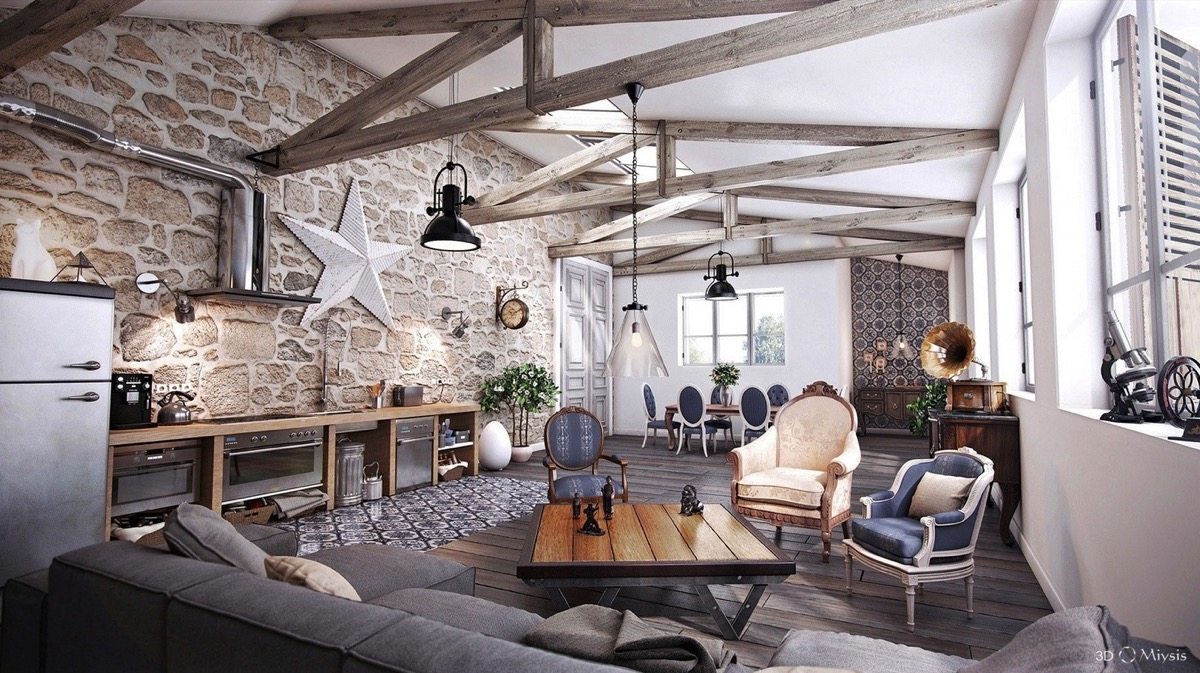 Detailed Guide Dan Inspiration For Designing A Rustic Living Room