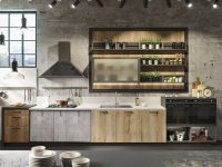 industrial-kitchen-matte-concrete-and-grey-wood