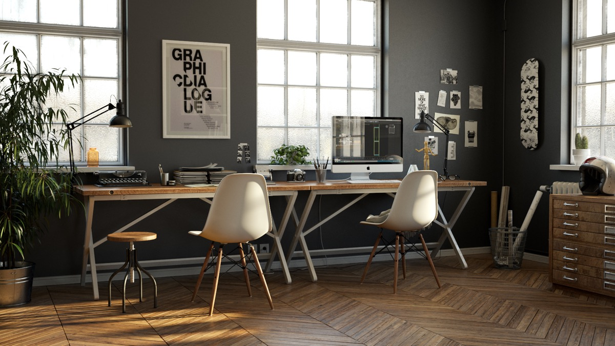 industrial-office-space-design-home