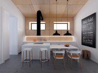 industrial-white-and-wood-kitchen