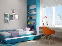 kids-bedroom-space-saving-blue-and-orange-bedroom