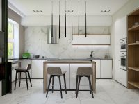 kitchen-pendants-with-tall-ceiling