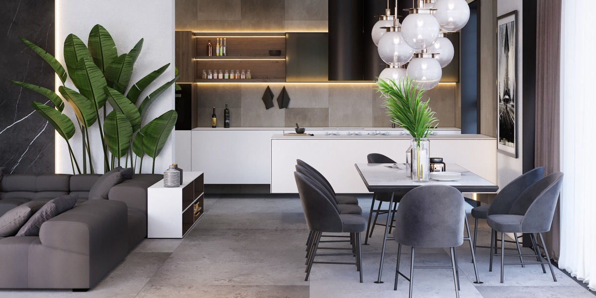 Living Room-Dining Room Combo: 51 Images With Tips To Get It ...