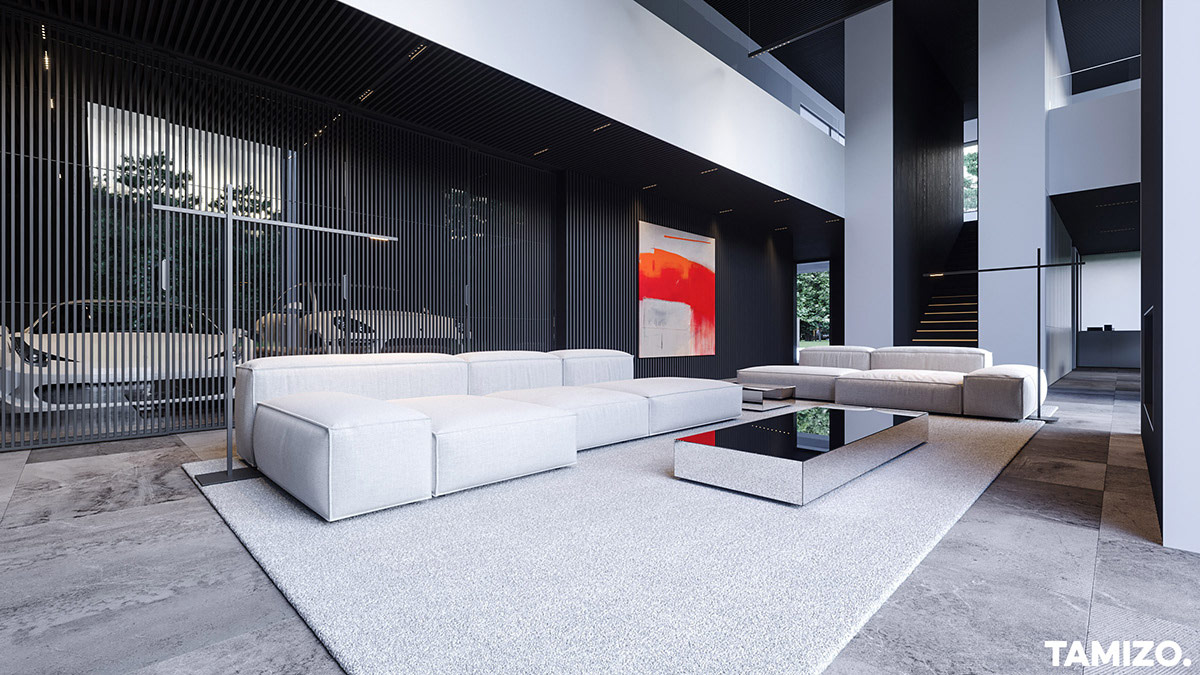 living-room-with-garage-view