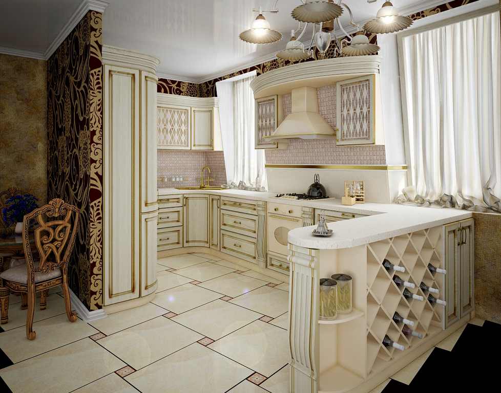 luxury-traditional-kitchen