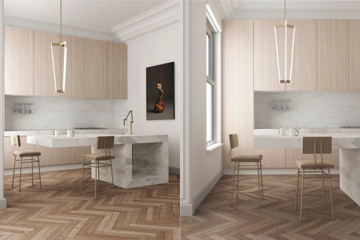 marble-kitchen-patterned-wooden-floor