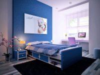 marilyn-monroe-kids-room-blue-bedroom-furniture