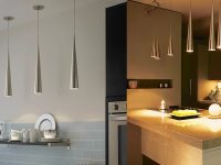 metallic-cone-kitchen-pendant-lights