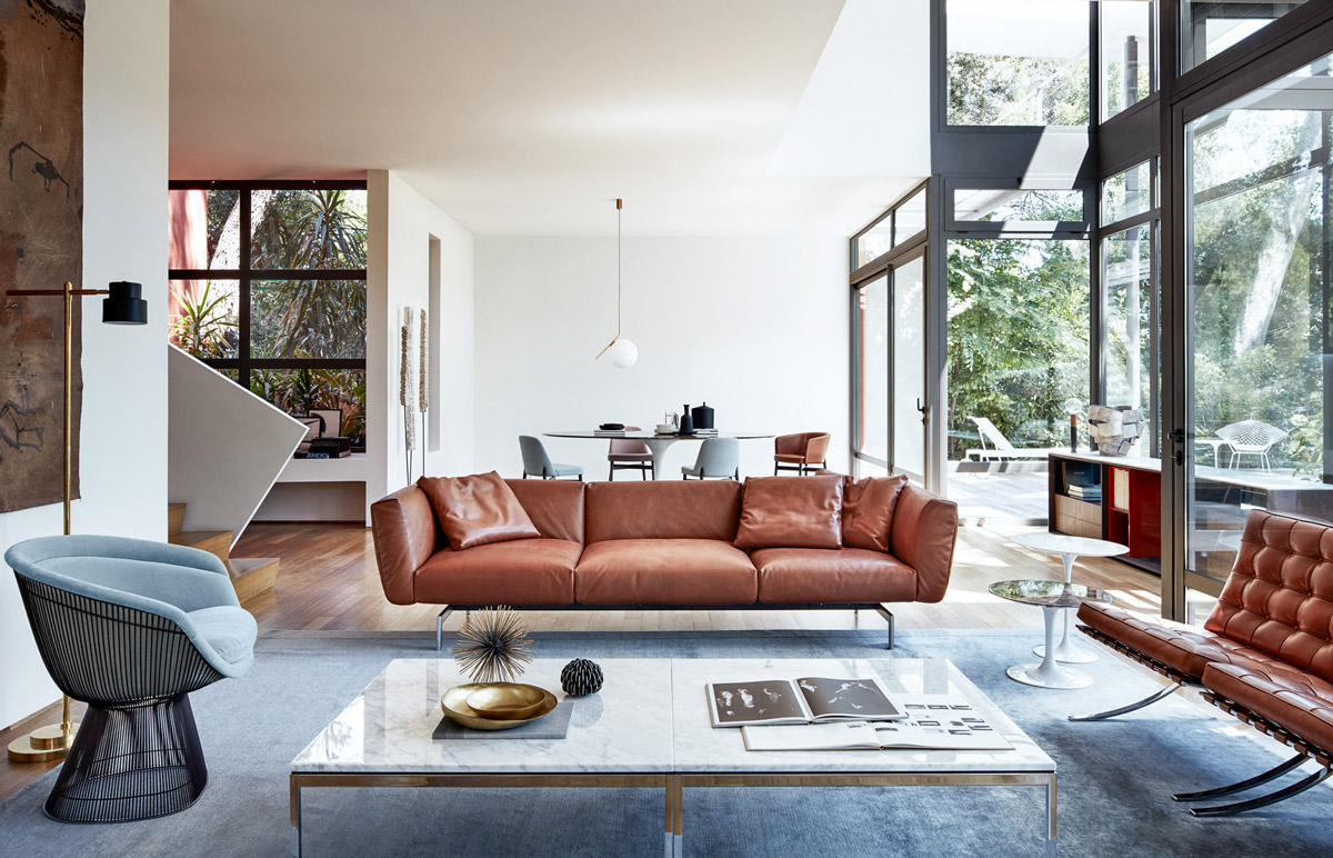 mid-century-modern-living-room - Awesome Decors