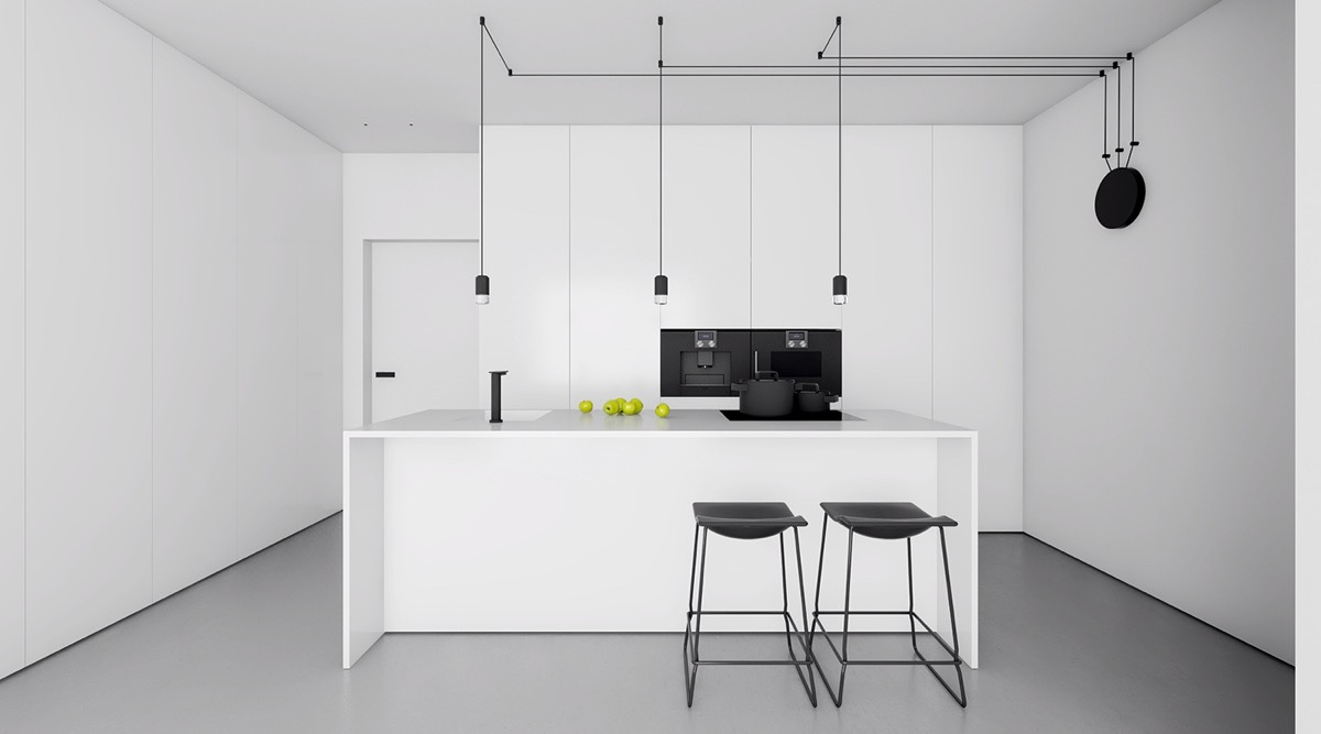 minimalist-black-and-white-kitchen-design