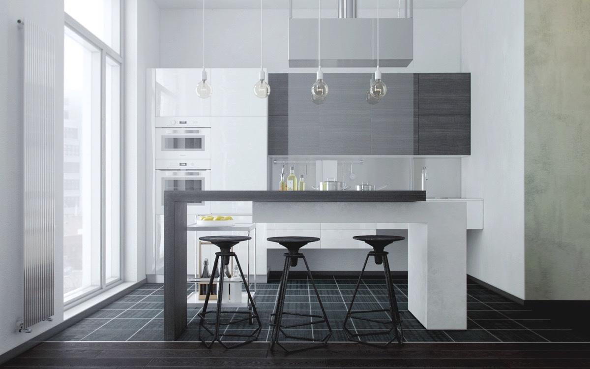 minimalist-kitchen-island-pendants